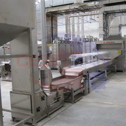 Завод по очистке, переработке, хранению, линия получения пюре, линия по солению, упаковка орехов (Болгария)