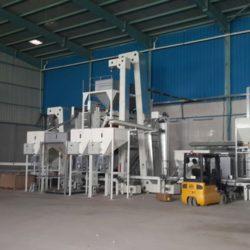 Линия по переработке бобовых культур 4 тонны в час (Италия)