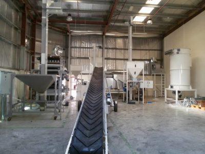 Линия по очистке семян подсолнечника 2 тонны в час (ОАЭ)