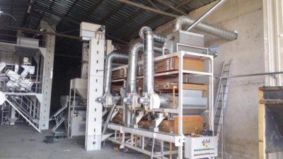 Линия по очистке семян подсолнечника 2.5 тонны в час (Болгария)