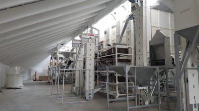 Линия по очистке нута 4 тонны в час