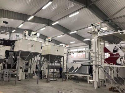 Линия по переработке семян горчицы 5 тонн в час (Украина)
