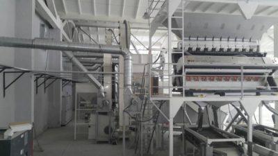 Линия по переработке бобовых культур