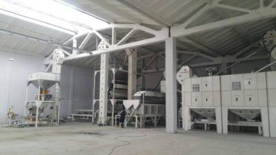 Линия по переработке бобовых культур 10 тонн в час (Узбекистан)