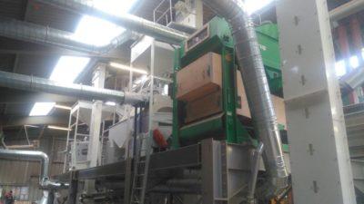 Линия по переработке чечевицы 5 тонн в час