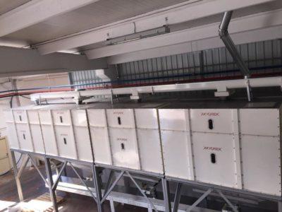 Линия по переработке кунжута 4 тонн в час (Турция)