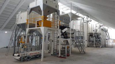 Линия по переработке нута 4 тонны в час (Болгария)