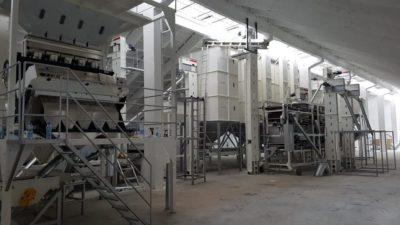 Линия по переработке нута 4 т_ч (Болгария)