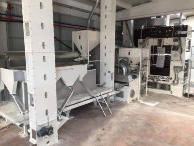 Линия по переработке кунжута 4 тонны в час (Турция)