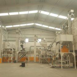 Линия по переработке киноа 5 тонны в ч (Перу)