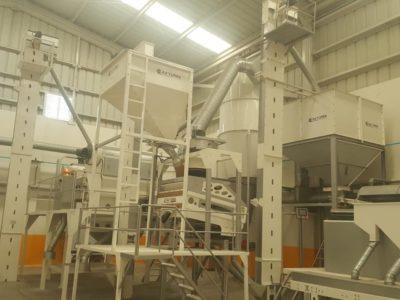 Линия по переработке киноа 5 тонн в час (Перу)