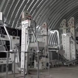 Линия по переработке бобовых культур из Украины