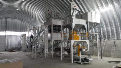 Линия по переработке бобовых культур 5 тонн в час (Украина)