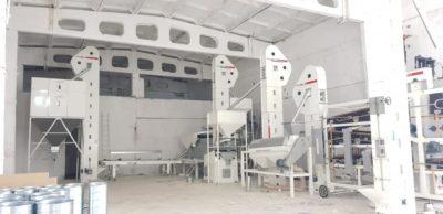 Линия по переработке бобовых культур (Узбекистан)