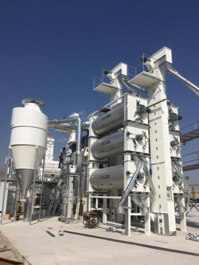 Линия по переработке пшеницы 7 т_час (Ирак)