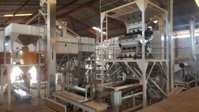 Линия по переработке бобовых и кукурузы 5 т_ч (Тринидад и Тобаго)