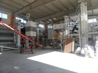 Линия по переработке бобовых культур 10 тонн в час (Турция)
