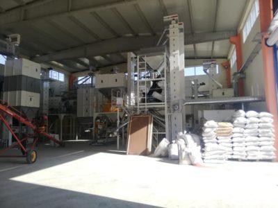 Линия по переработке бобовых культур 10 т_ч (Турция)