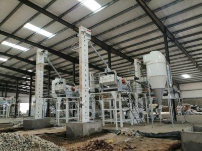 Линия по переработке кунжута 5 тонн за час