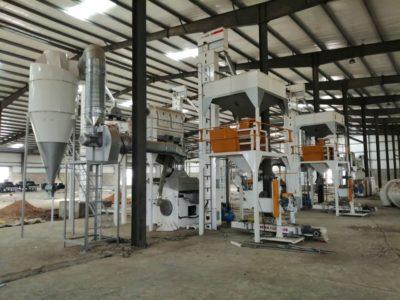 Линия по переработке кунжута 5 тонн в час (Южный Судан)