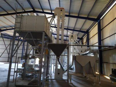 Линии по переработке семян 10 т_час (Пустыня Сахара)
