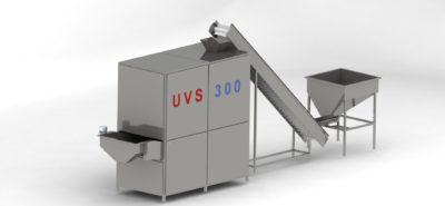 Линия ультразвукового вакуумного соления семечек и орехов UVS 300 вид 2