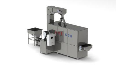 Линия ультразвукового вакуумного соления семечек и орехов UVS 600 вид1